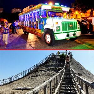 combo rumba en chiva volcan de totumo, albitours cartagena, agencias de Viajes en cartagena, planes en cartagena, turismo en cartagena