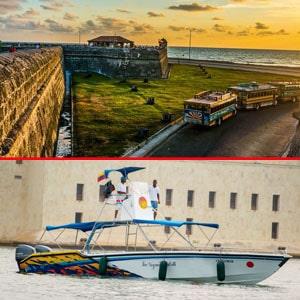 Combos islas del rosario en lancha + city tours cartagena, combos en cartagena, agencias de viajes en cartagena, turismo en cartagena, planes en cartagena, islas del rosario, playa blanca