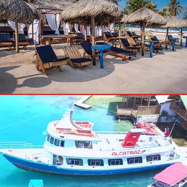 Tours islas del rosario en barco, planes en Cartagena, turismo en Cartagena, playa blanca baru, playas de Cartagena, pasadia en tierrabomba, punta arena, palmarito beach, tours tierra bomba