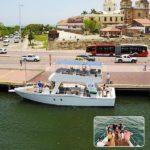 Atardecer sibarita express, atardecer en Cartagena, planes en la bahía, sibarita, planes románticos en cartagena